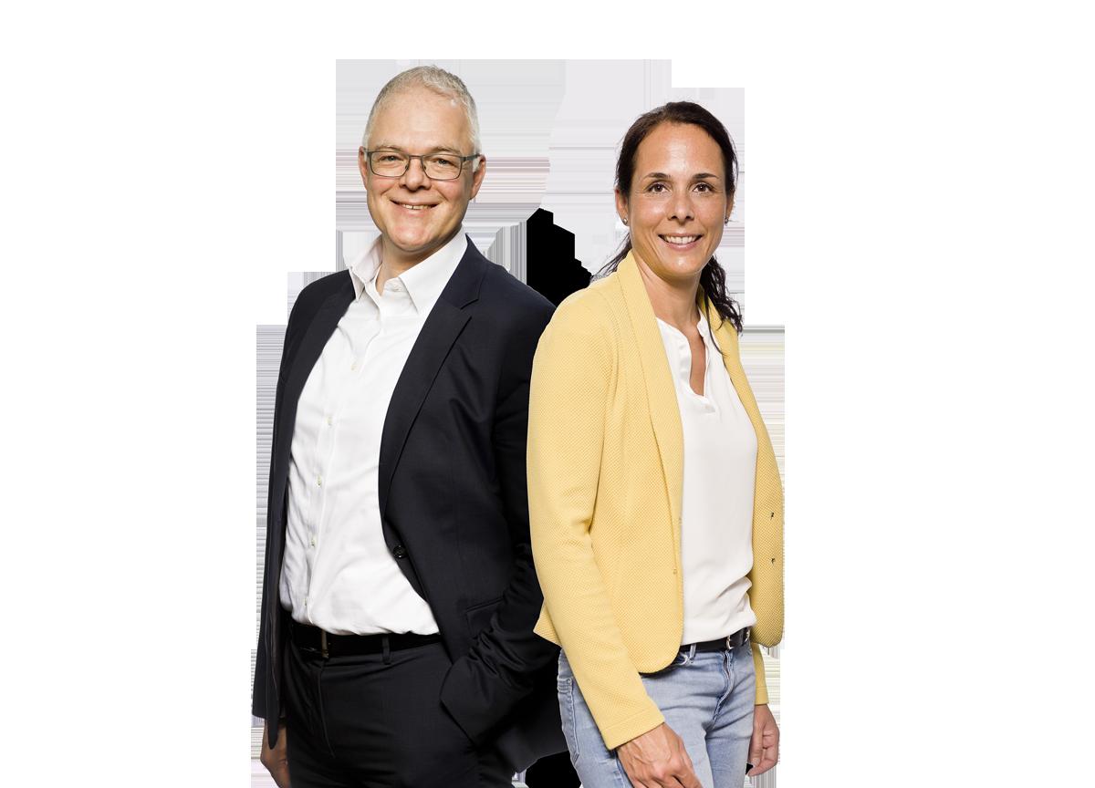 Ralf Holtkötter und Anja Roth